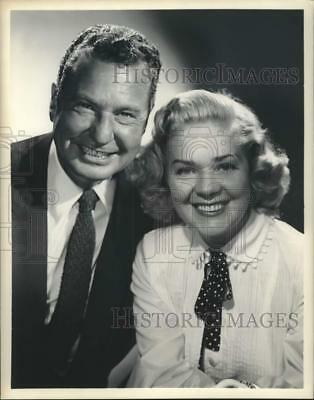 Press Photo Actress Alice Faye with Comedian Phil Harris, married couple