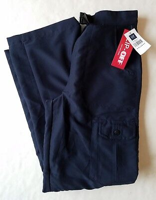 NWT GAP KIDS Boys XXL Convertible Knit Lined Navy Athletic Pants