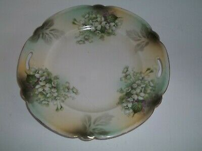 Stunning Quality Rs Prussia Fine Antique Porcelain Cabinet Plate 9.75""