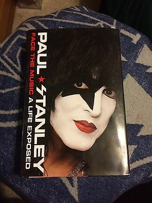 Paul Stanley Kiss Face The Music, A Life Exposed SIGNED AUTOGRAPH BOOK