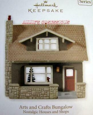 Hallmark 2011 * Nostalgic Houses And Shops * Arts And Crafts Bungalow * 28Th