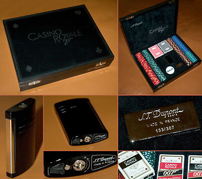 S.T. Dupont Casino Royale 007 Limited Edition 2006  POKER SET Nr. 133 JAMES BOND