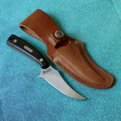 SCHRADE USA Old Timer Sharpfinger Knife 152OT NEW Hunting High Carbon and Sheath