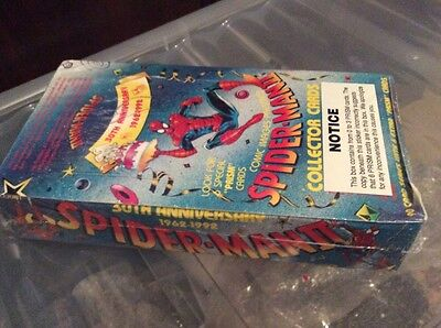 1992 factory sealed comic image 30th anniversary trading card full shop case