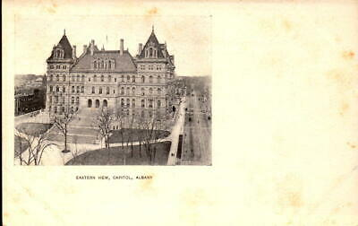 Postcard Eastern View Capitol Albany New York Private Mailing Card Unused