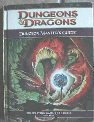 DUNGEONS & DRAGONS Dungeon Master's Guide 1st HC 2008!