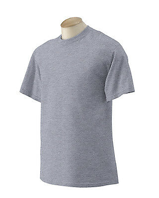 NEW Gildan Mens XLT Heavy T-Shirt Ultra Cotton XL Tall Grey