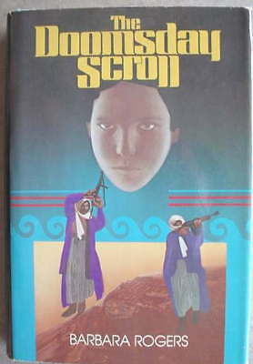 Barbara Rodgers THE DOOMSDAY SCROLL 1st HC/dj 1979 WOW!
