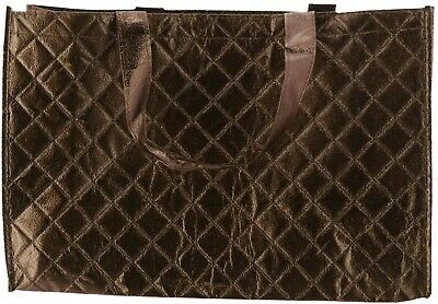 Joy Mangano 6 Pc Luxe Quilted Tote Merlot Burgundy NEW 404-644
