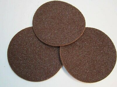 """Lot of 3 Hook & Loop 8"""" Scotch-Brite SE 3M Coarse Surface Conditioning Discs"""