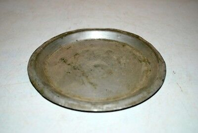Kitchenware Serving Plate Antique Old Brass Hand Carved Indian Art