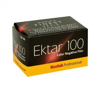 Kodak Professional Ektar 100 Color Negative 35mm Roll Film 36 Exposures New