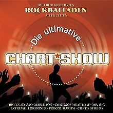 Die Ultimative Chartshow - Rockballaden von Various Artists | CD | Zustand gut