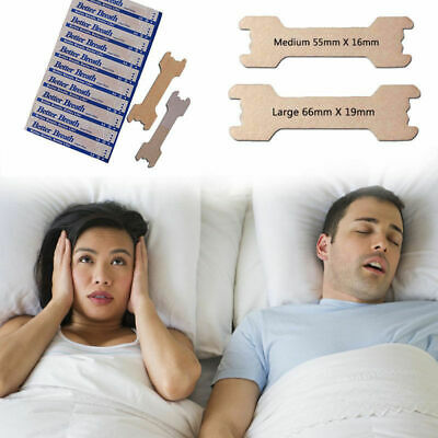 100-500 PCS LARGE/SMALL NASAL STRIPS Breathe Better & Reduce Snoring Right Now