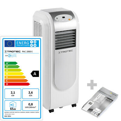 TROTEC PAC 2000 E Climatiseur local, climatiseur portable max. 2,1 kW + AirLock
