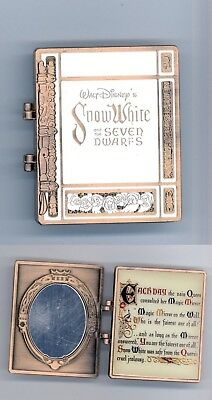 Disney D23 Archives Snow White and the 7 Seven Dwarfs Storybook Hinged Book Pin