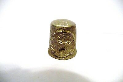 Thimble Textured Pewter Rawcliffe With A Sand Dollar In Hi-Relief