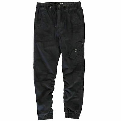 No Fear Kids Boys Navy Army Print Trousers Junior Chino Pants Bottoms Chinos Zip