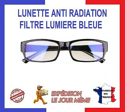 LUNETTES FILTRE ANTI RADIATIONS LUMIÈRE BLEUE PC GAMING TV TABLETTE Repos