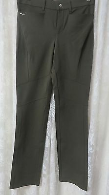 Ralph Lauren RLX GOLF PANTS  Olive Size 4 Stretch NEW Most comfortable!