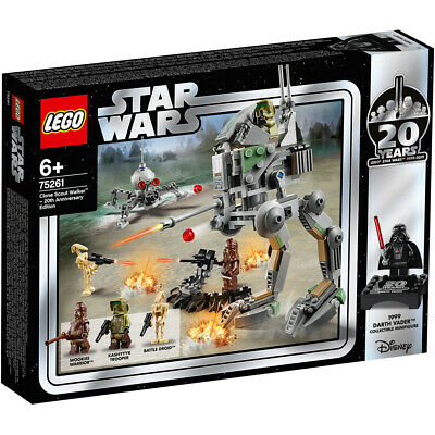Lego Star Wars 20th Anniversary Clone Scout Walker Building Set - 75261