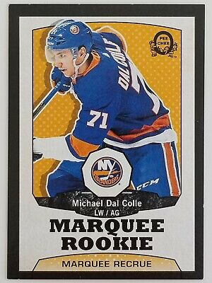 Michael Dal Colle O-Pee-Chee Marquee Rookie Retro Black 9/100 #516 Sp Ud Series2