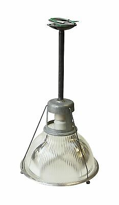 14 in. Industrial Holophane Factory Pendant Light