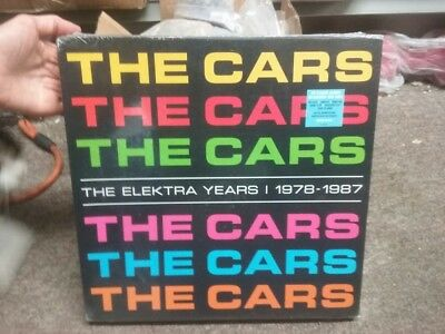 The Cars Elektra Years 1978-1987 NEW Colored Vinyl 180 Gram Boxed Set som damage