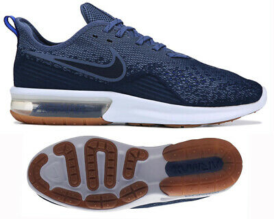 NEW NIKE AIR Max Sequent 4 Mens navy white sneaker all sizes