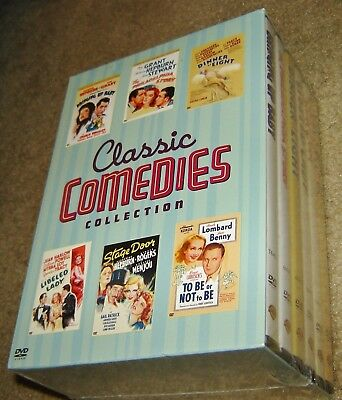 Classic Comedies Collection (DVD, 2005, 8-Disc Set),NEW & SEALED, RARE, 6 MOVIES