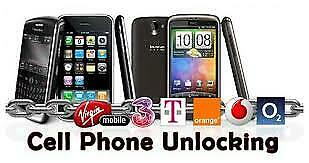 Unlock Code for Samsung Galaxy S7, Edge, Note 8, S8/S8+ (Bell/Virgin) **CANADA**
