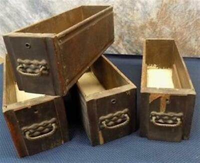 4 Sewing Machine Treadle Cabinet Drawer Singer Sign Wood Cubbyhole Cabinet a74