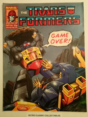 Marvel UK - The Transformers - Comic - No.136 - 24th Oct. 1987