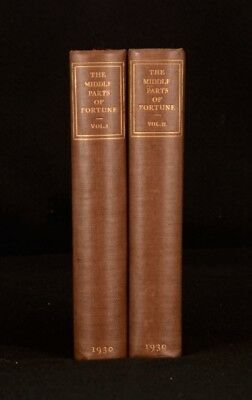 1929 2Vols Frederic Manning The Middle Parts Of Fortune 1st Ltd Edition