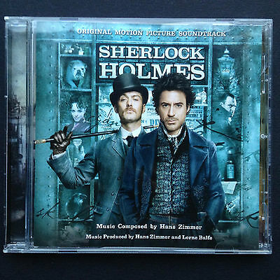 Hans Zimmer SHERLOCK HOLMES CD Film Soundtrack OST Balfe Robert Downey Jude Law