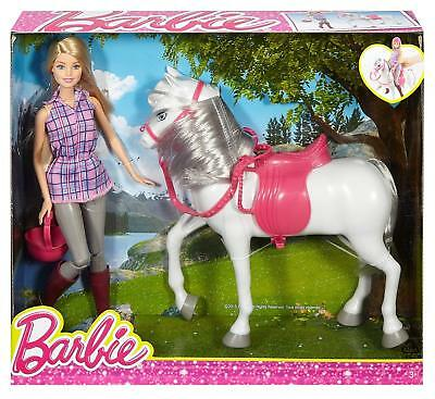 Barbie Doll and Horse playset DHB68 - BRAND NEW & NEVER REMOVED FROM BOX!!