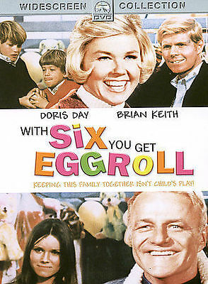 With Six You Get Eggroll DVD, Doris Day, Brian Keith