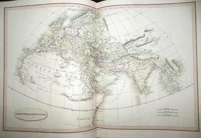 Smith's Classical Atlas (1820) Stunning Hand Coloured Maps - Asia, Europe - RARE