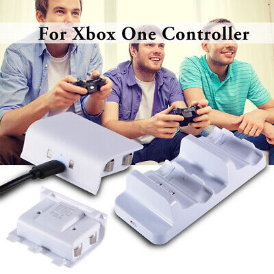 XBox One S Controller Dual Charge Dock Rechargeable Battery Pack AC564