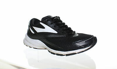 410bd9bb7dd Brooks Womens Launch 4 Black White Silver Running Shoes Size 7.5 (109248)
