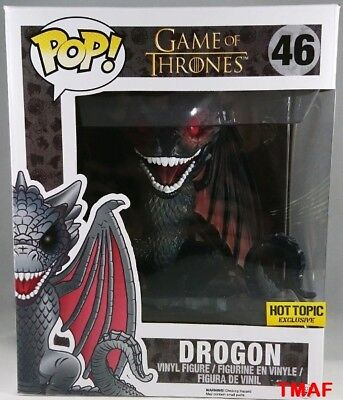 "FUNKO POP 2015 GAME OF THRONES VERSION 2 DRAGON #64 HT 6"" Figure IN STOCK"