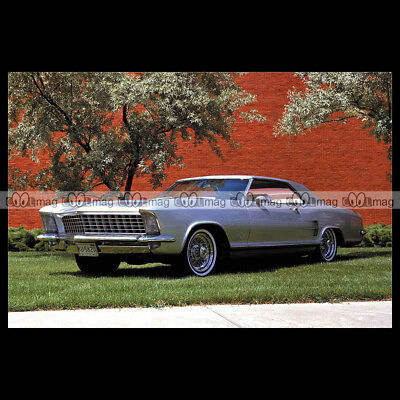 #pha.007080 Photo BUICK RIVIERA SILVER ARROW CONCEPT CAR 1963 Car Auto