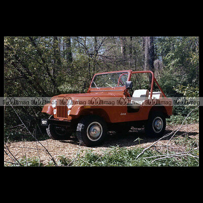#pha.013914 Photo JEEP CJ-5 CJ5 1977 Car Auto