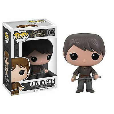 FUNKO POP GAME OF THRONES ARYA STARK #09 Vinyl Figure IN STOCK