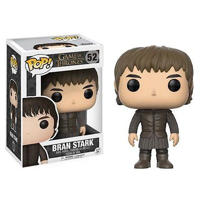 FUNKO POP 2016 GAME OF THRONES BRAN STARK #52 Vinyl Figure In Stock