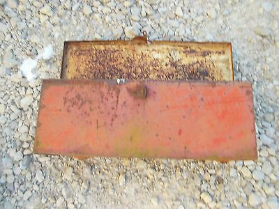 Allis Chalmers WD 45 WD45 tractor AC fender mount tool box w/ lid