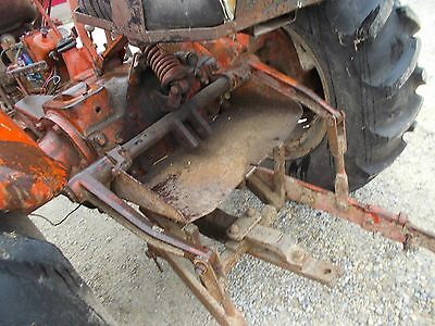 Allis Chalmers WD 45 tractor 3pt hitch top lift arm assembly w/ holder & drawbar