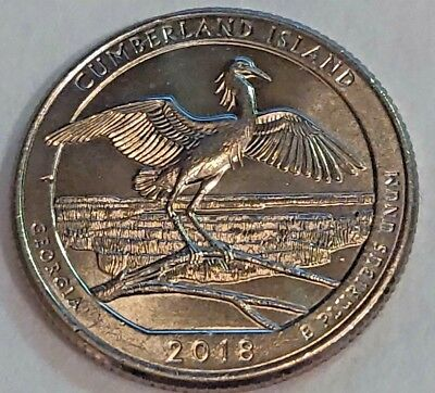 2018-P-Cumberland Island-Georgia- National Parks Quarter