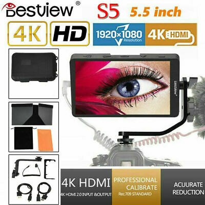 "Bestview S5 5.5"" IPS 1920x1080 4K HDMI Video Filed Monitor For Camera DSLR CO"