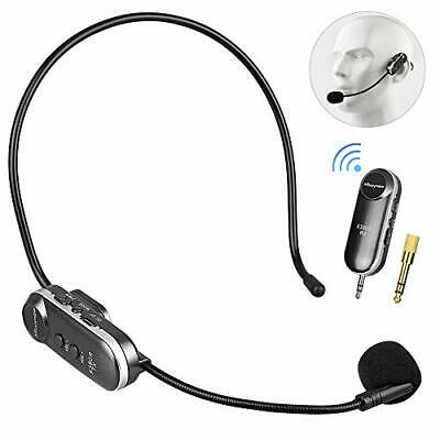 Micrófono Inalámbricos Profesional UHF 2.4G Mbuynow Wirelss Auriculares con M